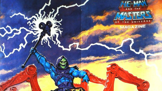 He-Man and the Masters of the Universe Magazine on TRN Time Machine