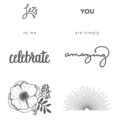 Take a closer look at the Amazing You stamp set by Stampin' Up! which is free during Sale-A-Bration