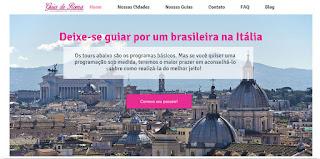 home page turismo roma - Novo site Turismo na Itália