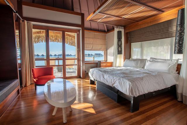 Review Le Meridien Bora Bora Classic Bungalow