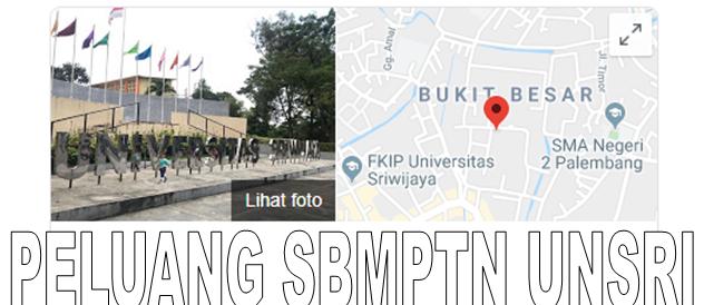 Peluang masuk SBMPTN Universitas Sriwijaya 2020/2021 {SBMPTN UNSRI TERBARU}