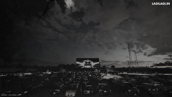 Drive-In Cinema Jakarta Indonesia