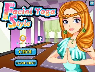 Chơi game thời trang yoga hấp dẫn