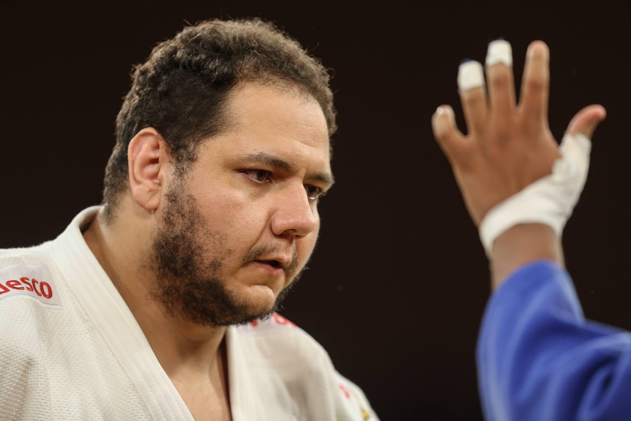 Rafael Silva atleta pesado do judô brasileiro