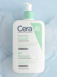 cerave gel foaming cleanser