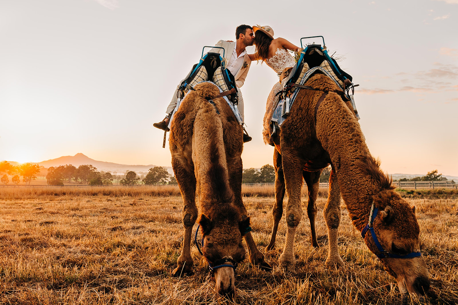 STYLED SHOOT: CHAMPAGNE AT SUNRISE FOR A SUMMER LAND CAMELS WEDDING SHOOT | GOLD COAST QLD