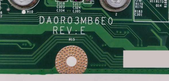 DA0R03MB6E0 REV E Dell Inspirion N7110 Bios