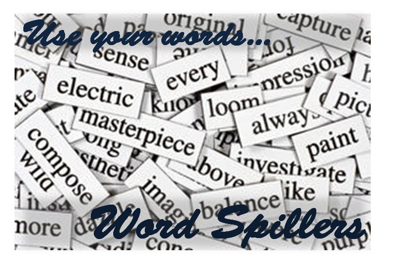 Grab the Word Spillers Button!
