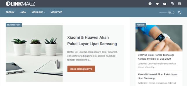 Download Template Linkmagz Mas Sugeng dimana?