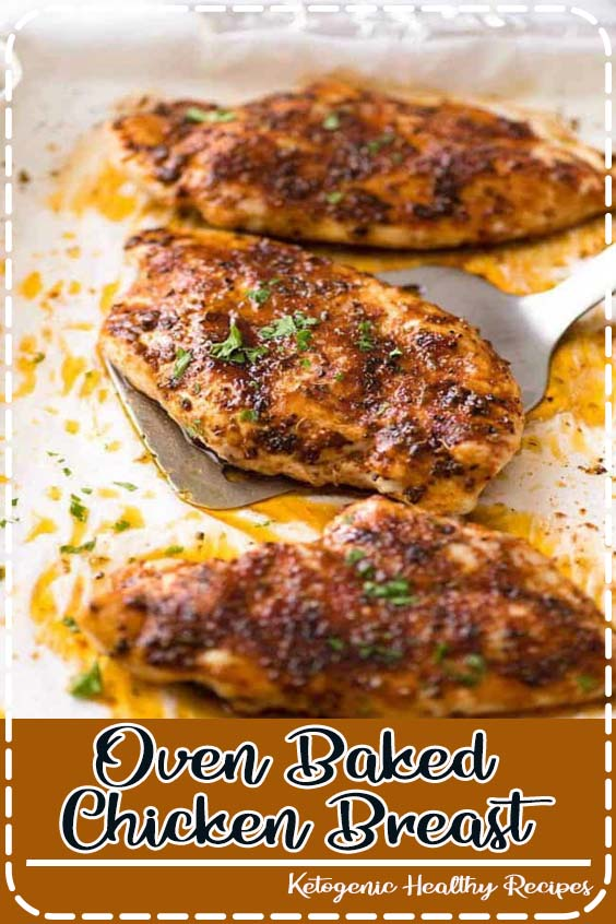 Though I always stand firm that brown meat is better than white  Oven Baked Chicken Breast