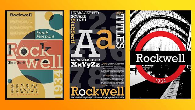 Rockwell-fonts