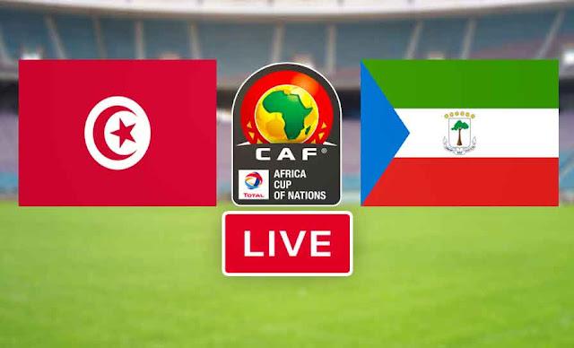 بث مباشر مباراة منتخب تونس ضد منتخب غينيا الاستوائية في تصفيات امم افريقيا