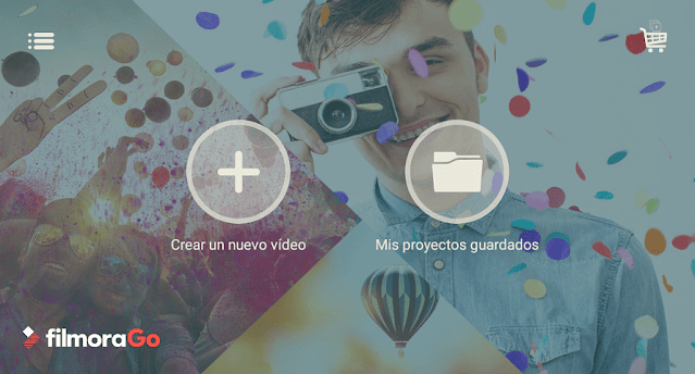 Editor de video Filmora Go Android