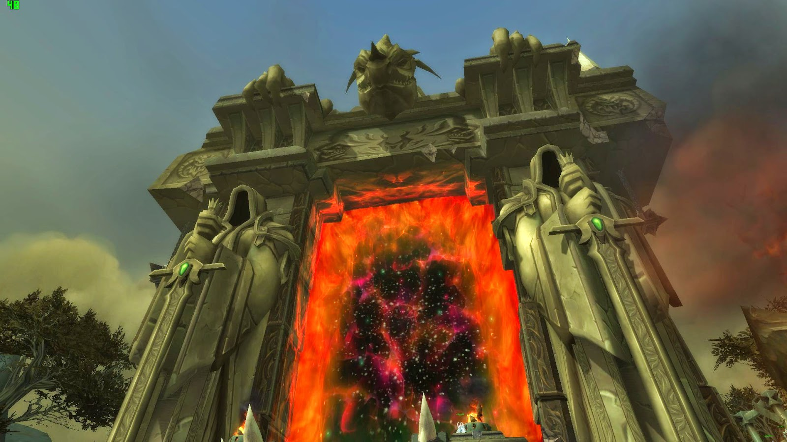 New Draenor Dark Portal!