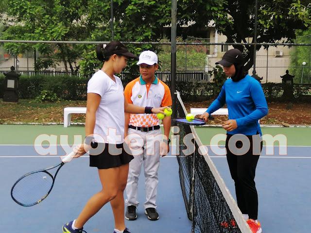 Aldila Melenggang ke Final Tennis Open di Jakarta