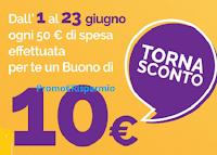 Logo ''Tornasconto Tigotà': scopri come ricevere un buono spesa da 10€