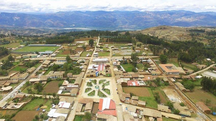 Distrito de Condebamba : Reseña histórica, Ubicación y Límites