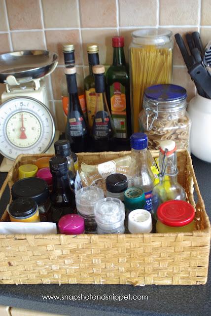 vintage spice basket image