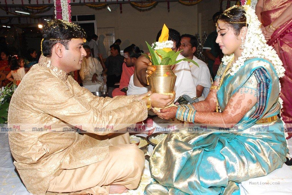 Tamil Actor Actress Wedding Photos