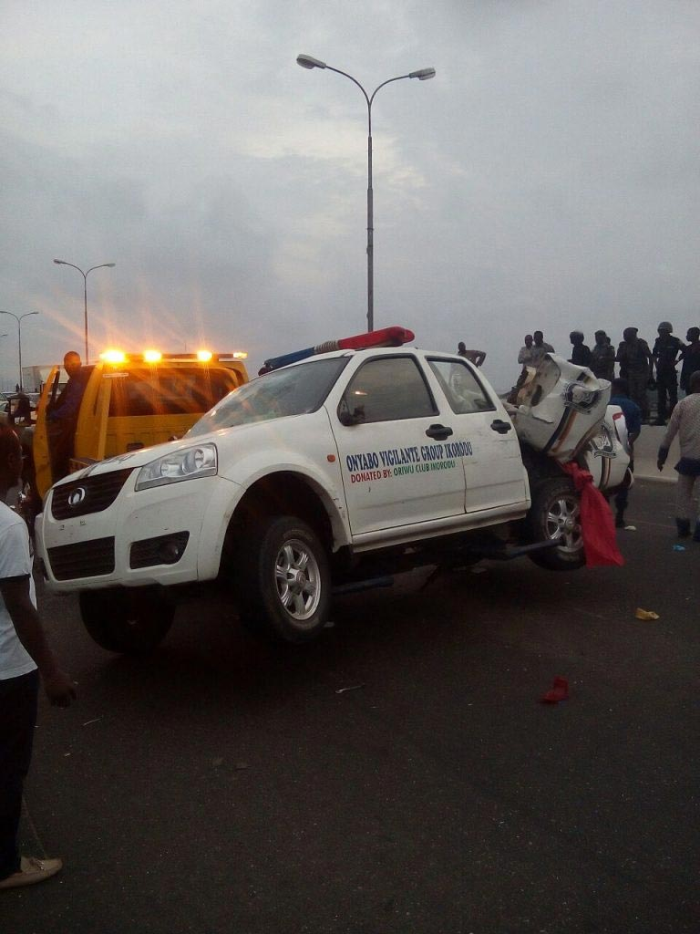 Five dead in 3rd Mainland Bridge crash involving multiple cars in Lagos
