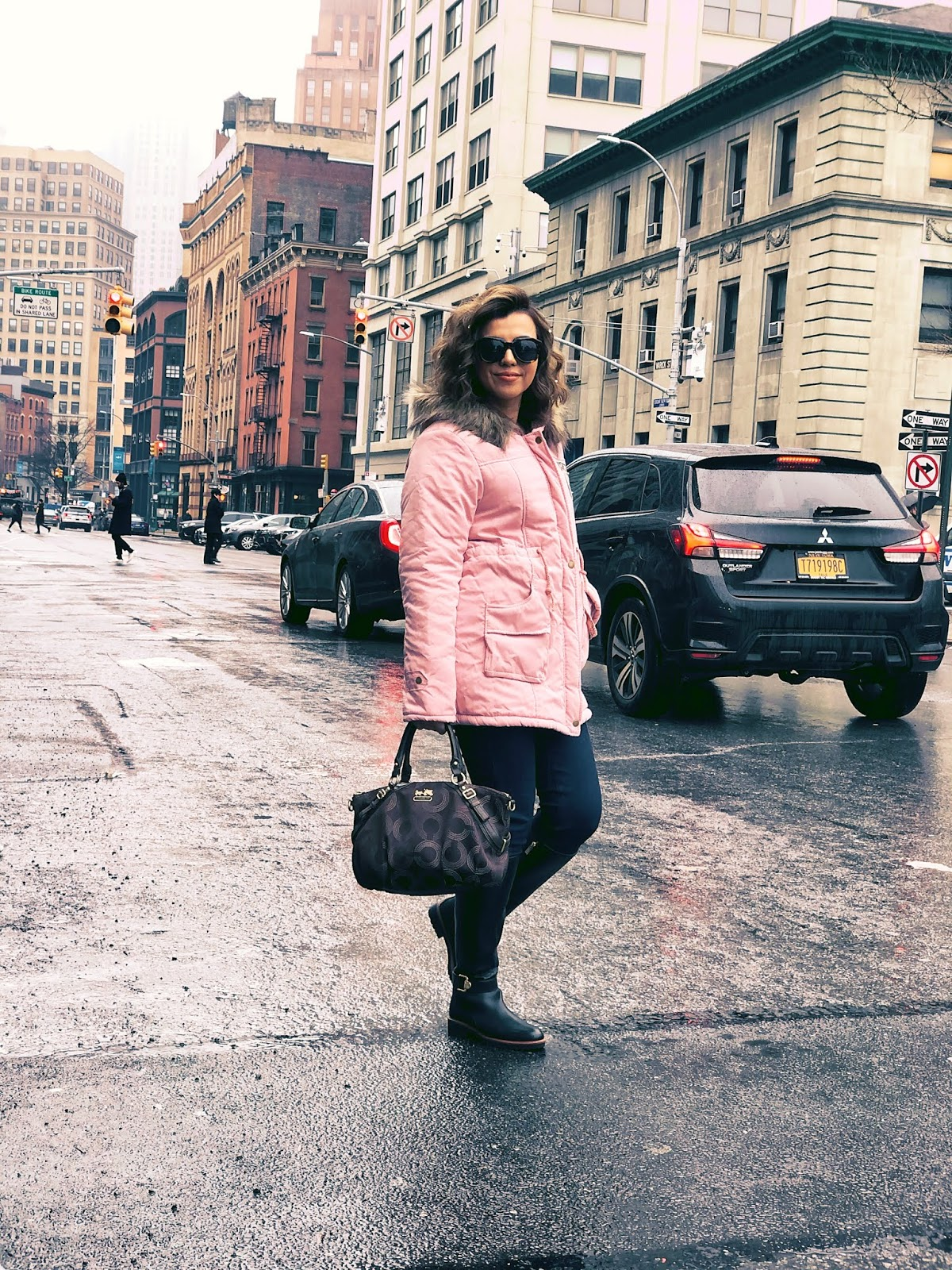 Parka En Color Rosa by Mari Estilo-lookoftheday-sheingals-shein-dcblogger-marisolflamenco-moda-fashion-personal blog-
