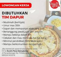 Lowongan Kerja Surabaya di Bund's Pizza Balongbendo Juni 2021