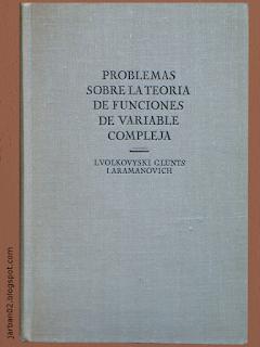 jarban02_pic082:Problemas sobre la teoría de funciones de variable compleja de L. Volkovyski, G. Lunts e I. Aramanovich