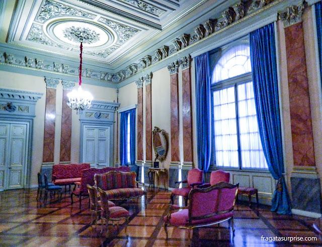 Foyer do Teatro Colón de Bogotá, Colômbia