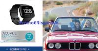 Logo Vinci la California con Acuvue Oasys 1-Day: vinci FitBit Versa, viaggio e un premio certo per tutti