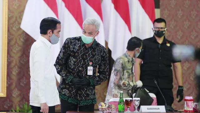 Jokowi Geram Jateng Jadi 'Biang Kerok' Lonjakan Covid-19, Ganjar Pranowo: Angkanya Gede Banget, dari Mana Sumbernya?