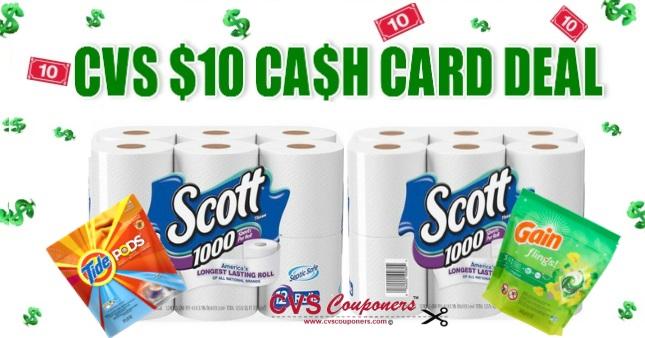 CVS Deal on Scott Bath Tissue $1.56 1117-1123