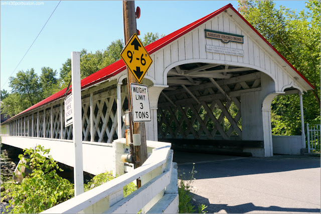 Ashuelot Covered Bridge, New Hampshire