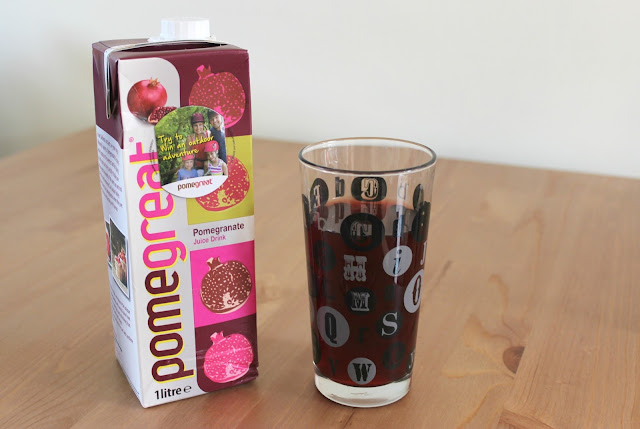 Pomegreat Pomegranate Juice Drink Review