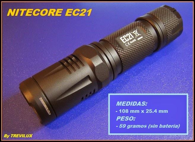 review Nitecore EC21 luxlinternas@blogspot.com.es