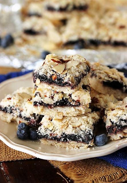 Blueberry-Almond Bars Image
