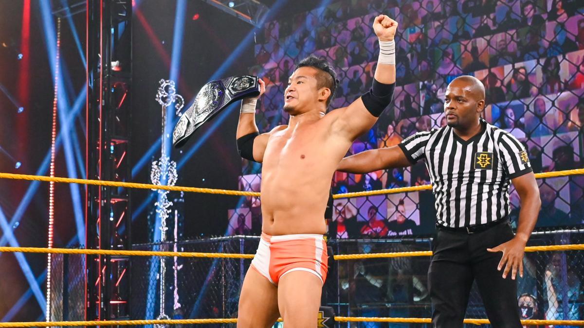 Luta por título é anunciada para o WWE NXT