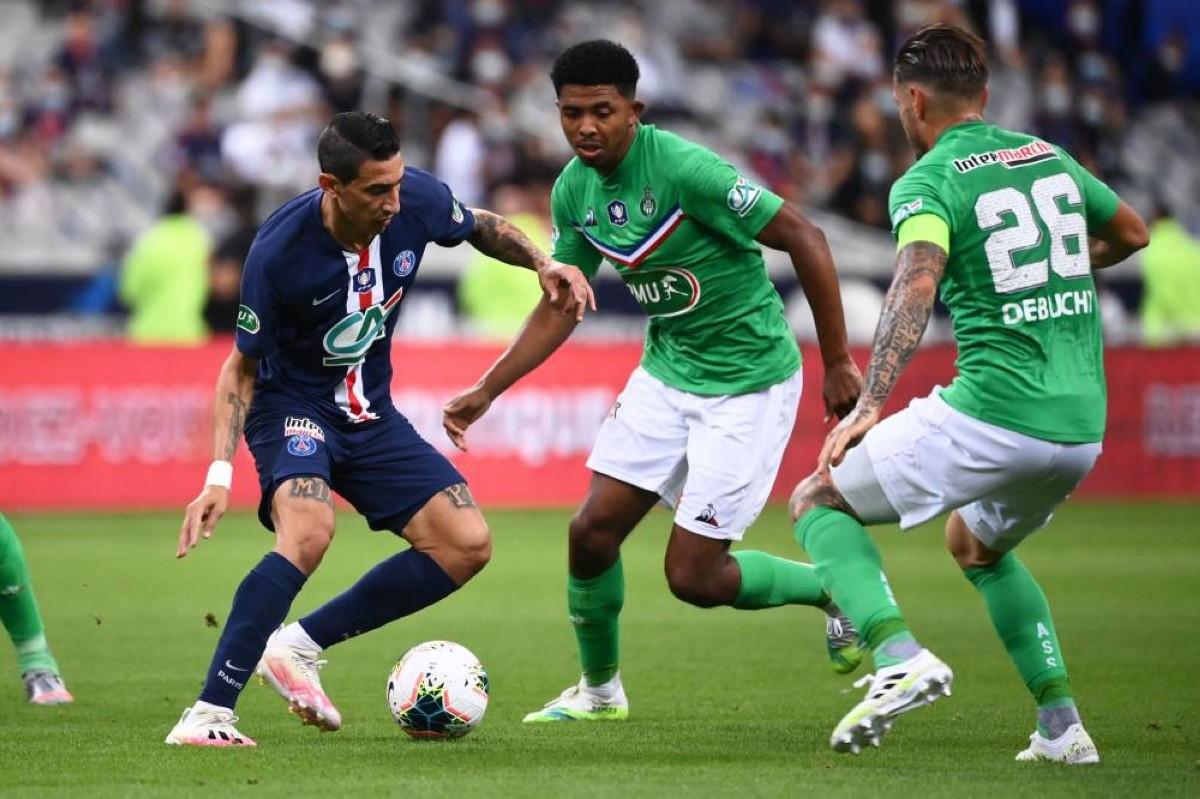 تقرير باريس سان جيرمان وسانت اتيان الجوله 33 من الدوري الفرنسي