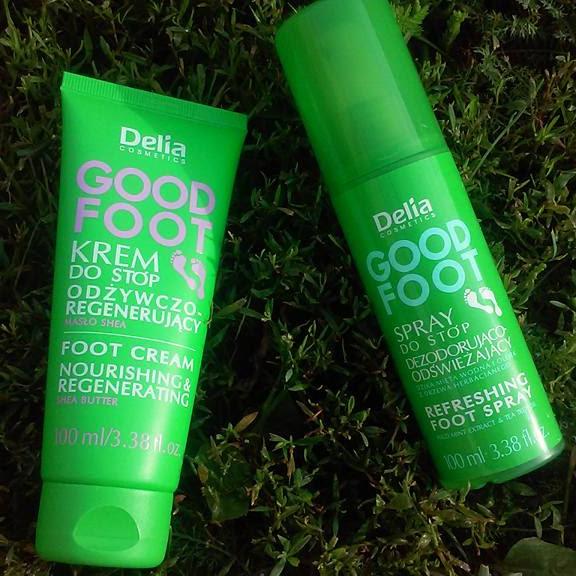 Delia krem i spray do stóp