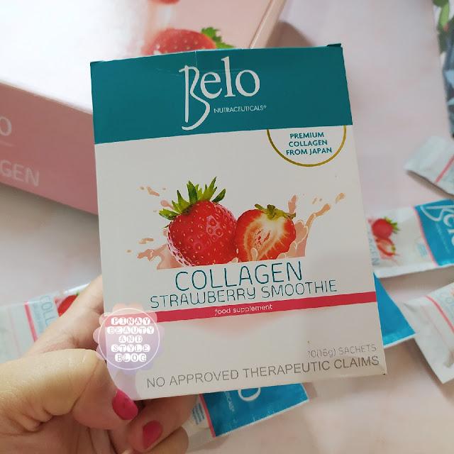 Belo Collagen Strawberry Smoothie Review  - A Delicious Japanese Collagen Powder Drink!
