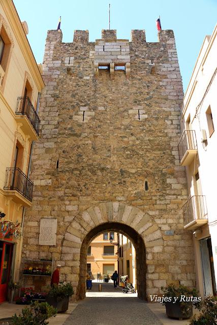 Portal de Bove, Montblanc, Tarragona