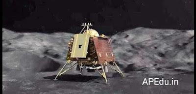 NASA discovered the lander Vikram