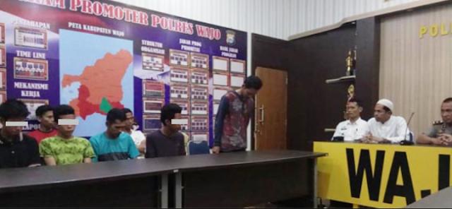 7 Pemuda yang Remehkan Gerakan Shalat Tarawih Minta Maaf