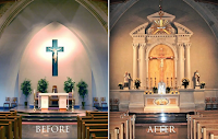 Before and After: St. Catherine of Siena in Trumbull, Connecticut
