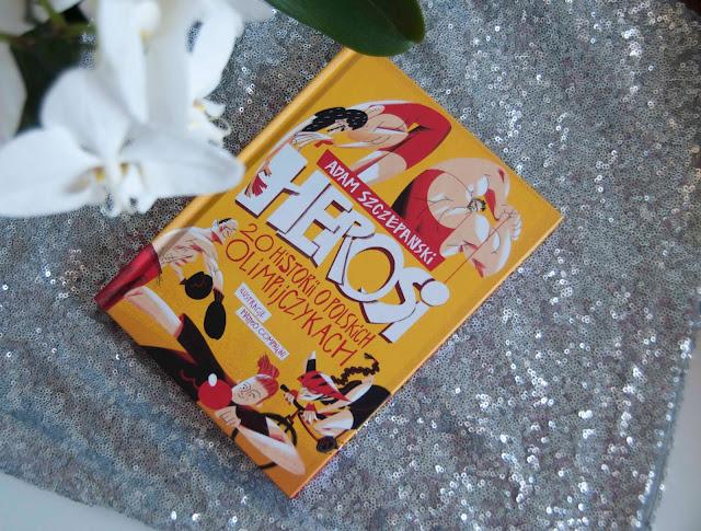 książka dla dzieci Herosi o olimpijczykach