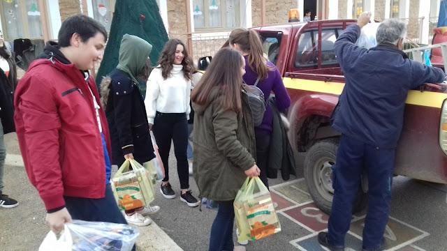 Πράξη αγάπης από το Δημοτικό Σχολείο Σκαφιδακίου προς το Κοινωνικό Παντοπωλείο Δήμου Άργους Μυκηνών