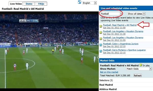 Sites para ver jogos de futebol em directo
