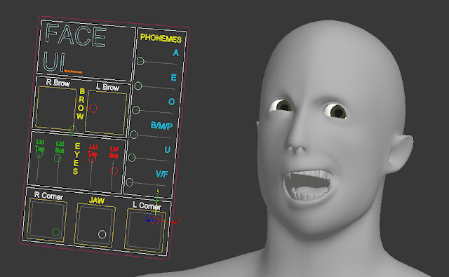 Blender Facial Rigging 15