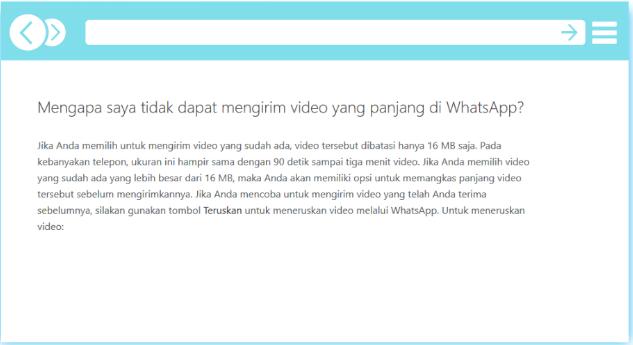 Cara Kirim Video Durasi Panjang Di whatsapp Aggar Tidak Terpotong