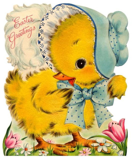 Cute Vintage Cards for Your Easter
