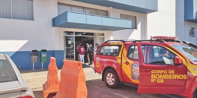Prédio que abriga secretarias da prefeitura é evacuado após vazamento de material de Raio X